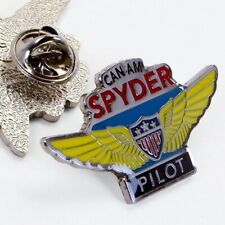 1.5in CanAm Spyder Pilot Wings Bikers Pin