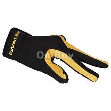Snooker Billiard Pool Cue Shooters 3 Fingers Gloves Left Hand Accessories