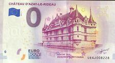 BILLET 0 EURO SOUVENIR TOURISTIQUE AZAY LE RIDEAU   2019-1