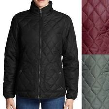 EDDIE BAUER Women's MOD YEAR ROUND Water Repellent ThermaFill Quilted Jacket