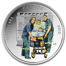 2016 Canada 2/3 oz Silver $15 National Heroes Paramedics