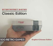 Retro Arcade classique 500 Mini Entertainment système construit en jeux NES