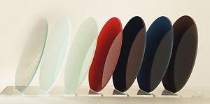 Glasscheibe Runde Tischplatte aus Glas + farbiges Glas Tisch Glasplatte rund