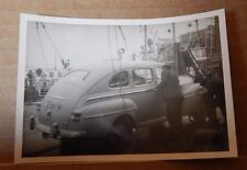 Photograph Automobilia 1948 Ford Super deluxe Fordor being loaded onto A ship
