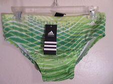 $46.00 NWT adidas bikini brief swimsuit 32