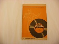 Original Phonograph Record Catalog - Decca Polydor Records