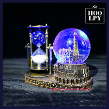 Snow Globe Glass Music Box Light Romantic Decoration Gift For Girlfriend