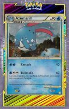 Azumarill Holo - HS01:HeartGold SoulSilver - 2/123-Carte Pokemon Neuve Française