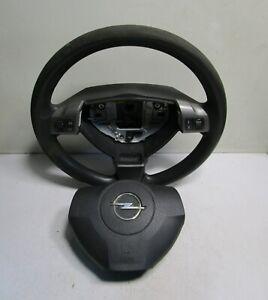 Opel Astra H Kombi Airbaglenkrad mit Modul und Schalter Rechts und Links Lenkrad
