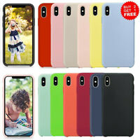 Silicone OEM Case For iPhone 8 7 Plus SE 2020 XR 11 Pro Max XS Max Premium Cover
