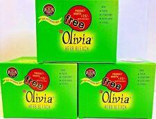 Olivia Herbal Facial Bleach-60 g Pack -Turmeric Aloe Vera Lemon Skin Care-Us Slr