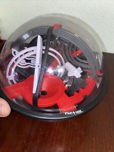 Sharper Image Space Challenge Maze Ball Globe 3D Plastic Puzzle Game