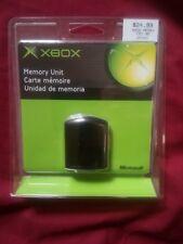 New Sealed Genuine ORIGINAL XBOX Memory Unit X08-25318 NOS NIP