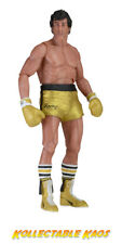 "Rocky - Rocky Gold Trunks 40th Anniversary 7"" Action Figure"