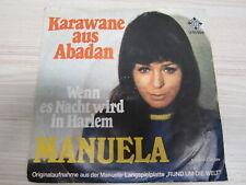 Single /  Manuela – Karawane Aus Abadan  / DE   PRESS / RAR /