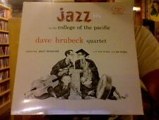 Dave Brubeck Jazz at the College of the Pacific LP sealed vinyl RE reissue
