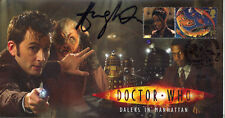 """Doctor Who Collectable Stamp Cover """"Daleks In Manhattan"""" - Signed HUGH QUARSHIE"""