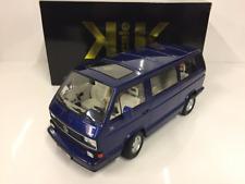 VW Bus T3 1992 Limited Last Edition 1992 Blue 1:18 Scale KK Scale