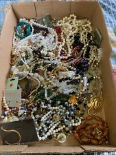 Large Lot of Jewelry/Vintage-Modern/Almost all Wearable!! NR
