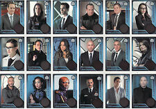 Agents of Shield Season 1 Allegiance 18 Card Chase Set FF1 - FF18