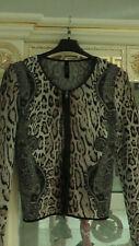 MARC CAIN Damen Jacke Strickjacke N3 38 M Mehrfarbig Wollmischung
