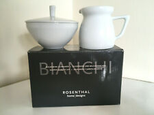 ROSENTHAL Home designs BIANCHI white porcelain creamer & sugar bowl BNWT