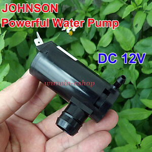 DC 12V 3.7A  High Pressure Large Flow Powerful Water Pump for Car Glass Washing