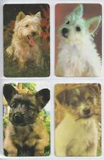 #915.320 Blank Back Swap Cards -MINT lot/4- Small dogs