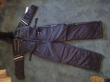 NEW SEARS One Piece Winter Snow Mobile Jump Suit NWT- Size 42 TALL Nylon Lining