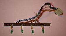 Marrone cassettendeck C 301-Pezzo di Ricambio-LED-Scheda per FeCr, CR, fe U. Dolby nr!