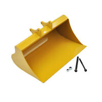 Upgrade Full Metal Excavator Bucket for Huina 580 RC Excavator Model Parts 1:14