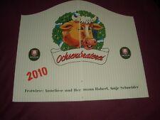 Oktoberfest - Wiesn - Speisekarte Ochsenbraterei  -  2010 -  Anschauen