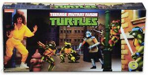NECA 2016 SDCC Teenage Mutant Ninja Turtles Arcade Game 4-Figure Set New In Box