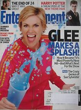 "JANE LYNCH ""GLEE""  May 2010 ENTERTAINMENT WEEKLY Magazine THE END OF ""24"""
