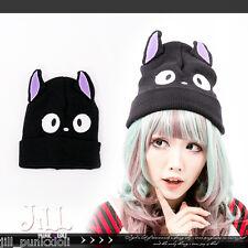 japan lolita cartoon kiki's delivery service GIGI cat ear ski tuque hat J2E6011