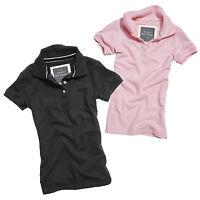 SURPLUS™ Raw Vintage LADIES POLO SHIRT Sport Damen T-Shirt Top