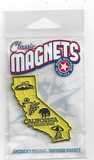 CALIFORNIA  CA    .SOUVENIR   TRAVEL MAGNET     STATE OUTLINE MAP   in Bag, NEW