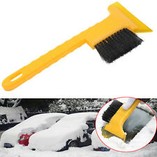 Car Vehicle Ice Snow Deicing Shovel Scraper Removal Cleaning Tool With Brush