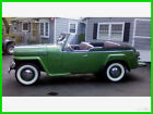 1949 Willys  1949 Willys Jeepster Phaeton 4-Cylinder 50 Mi on Engine 3-Speed Manual Papers