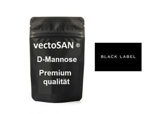 200 g D-Mannose Pulver Birke vectoSAN Black Label Premium 100 % vegan+natürlich