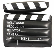 INFLATABLE CLAPPER BOARD 43 CM MOVIE DIRECTOR HOLLYWOOD PROP PARTY