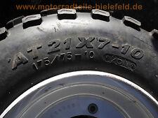 1x Vorderrad ATV Quad SMC Barossa RAM 250 Stinger Blast AT21x7-10 175/75-10 25N