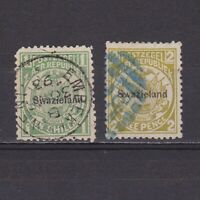 SWAZILAND 1889, SG# 3, 5, CV £33, part set, Used