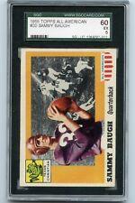 1955 Topps Sammy Baugh #20 All American Football Card SGC 60=5