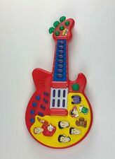 The Wiggles Play Along Musical Guitar music sounds songs Spinmaster Red Toy