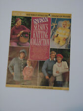 Knitting Pattern Woman's Weekly Collection Sweaters, Cardigans & Pram Set