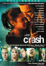 Crash ~ Sandra Bullock Matt Dillon Jennifer Esposito ~ DVD FS ~ FREE Shipping
