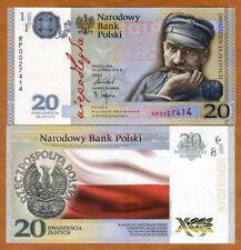 Poland 20 Zlotych, 2018 P-New Folder, UNC > Commemorative