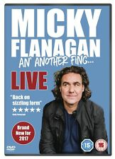 Micky Flanagan - An' Another Fing Live [DVD] Comedy 2017 NEW SEALED REGION 2 UK