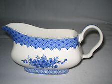 Churchill Out of the Blue Gravy Boat England Excellent